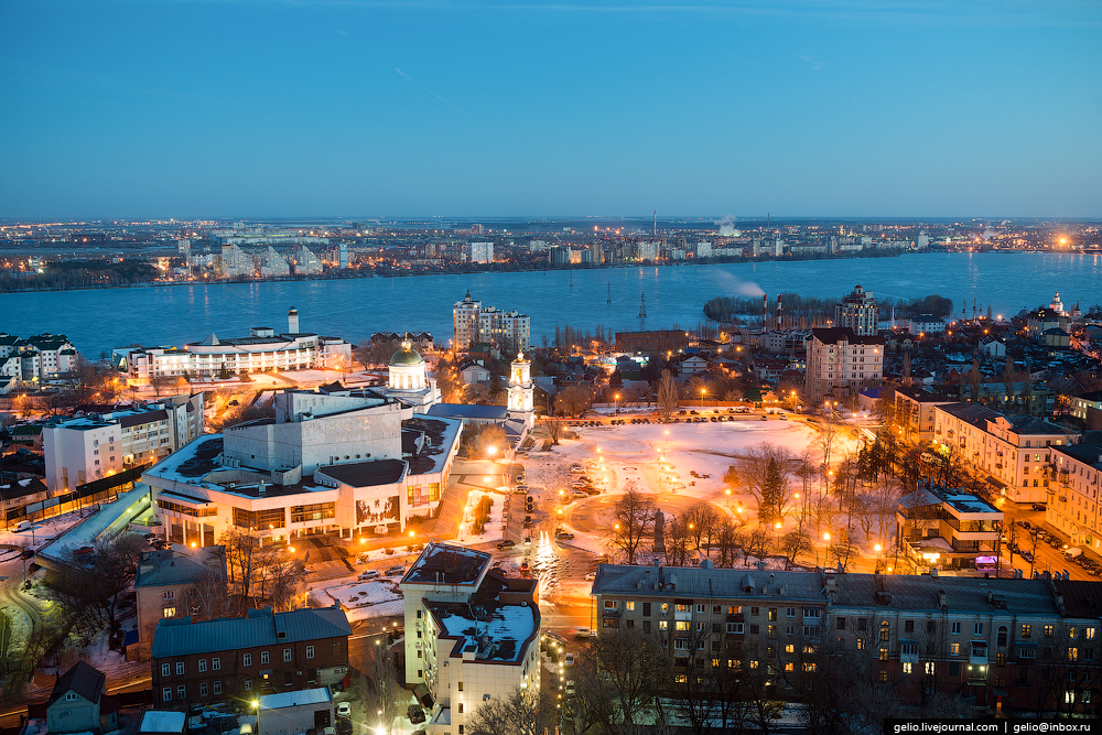 Voronezh from the height 21