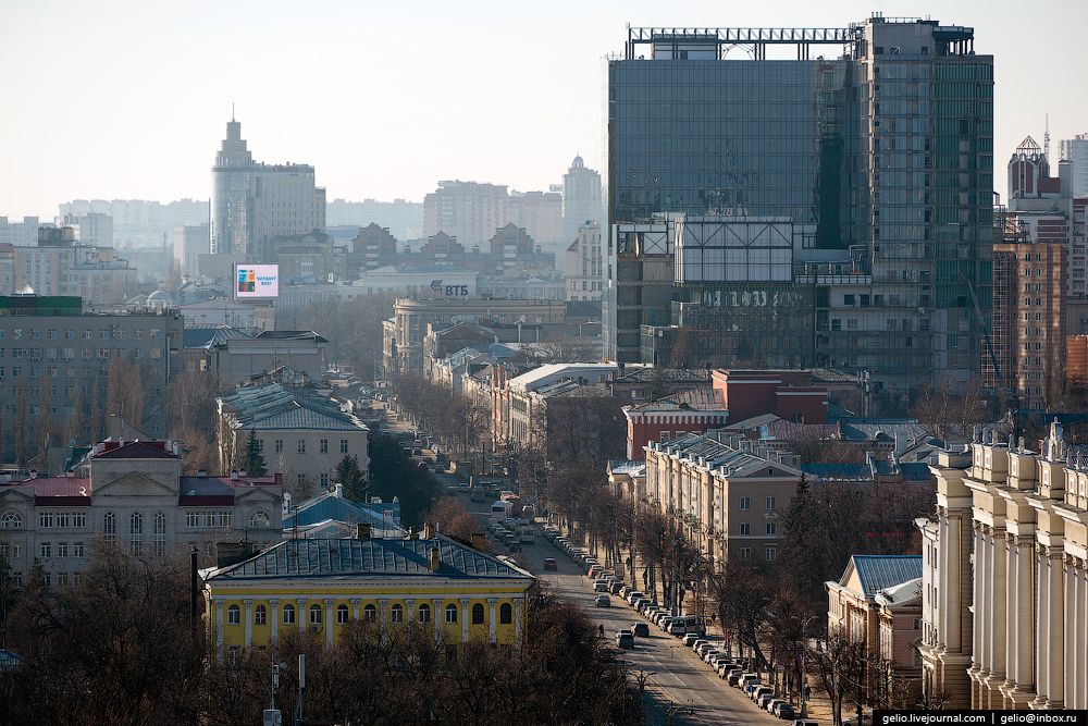 Voronezh from the height 22