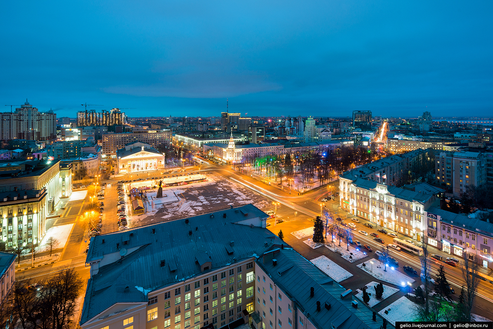 Voronezh from the height 32