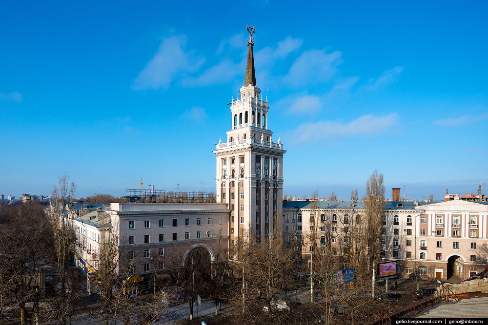 Voronezh from the height 35