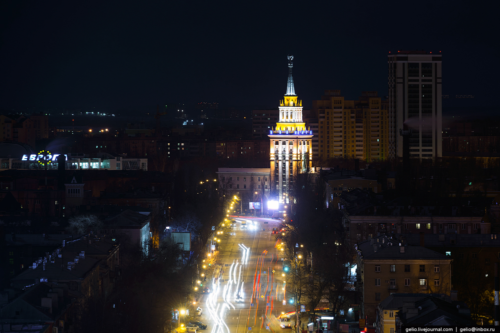 Voronezh from the height 36