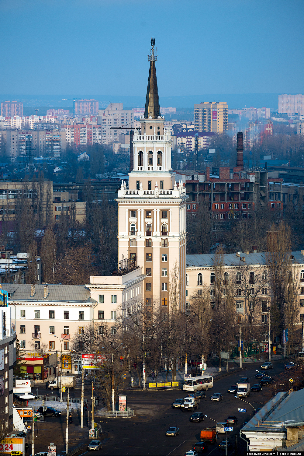 Voronezh from the height 37