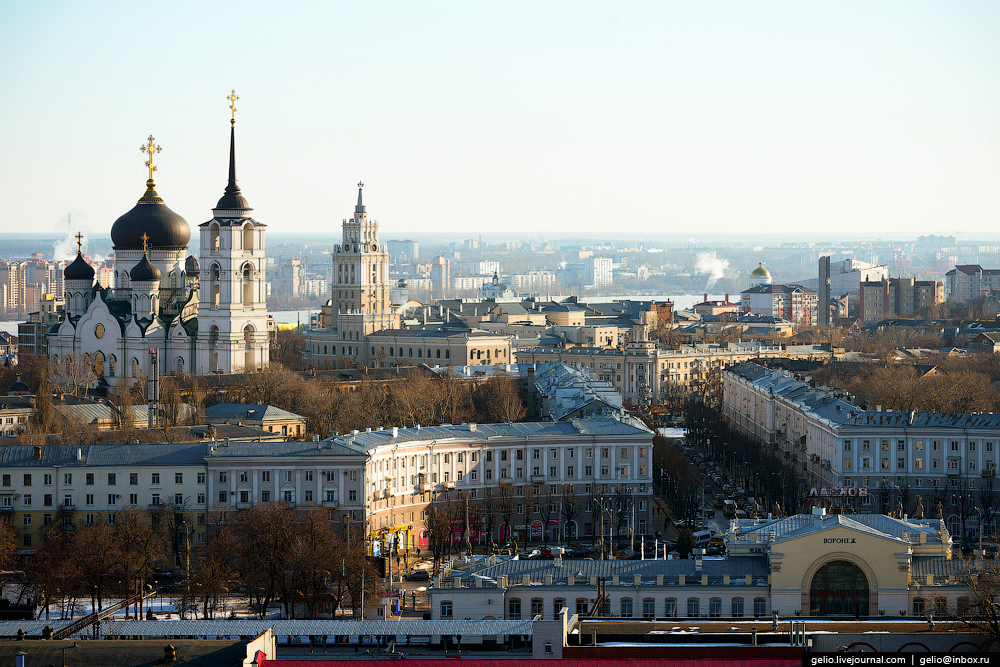 Voronezh from the height 42