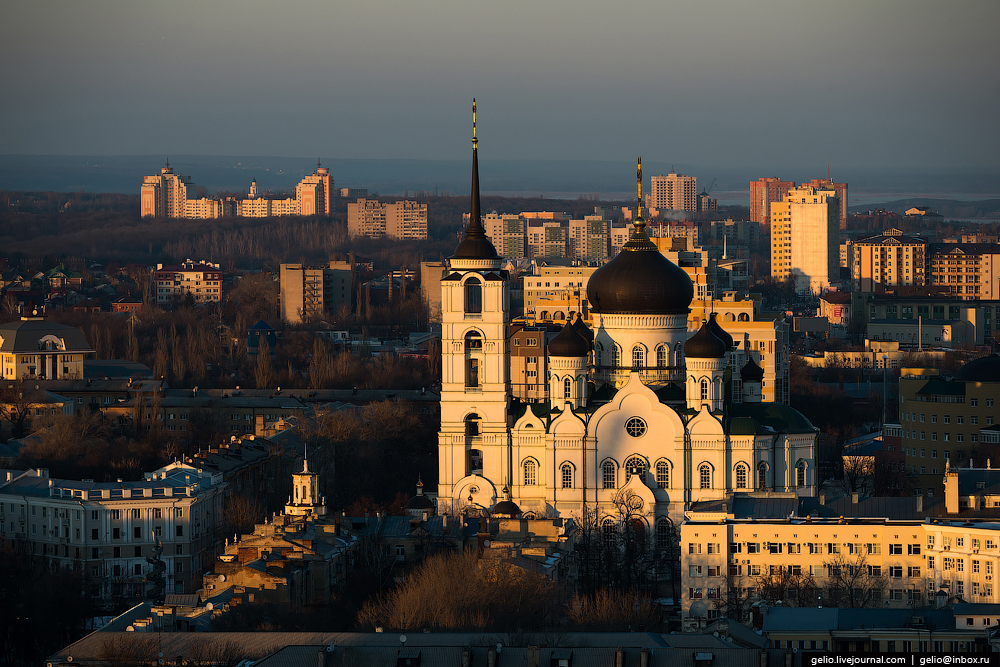 Voronezh from the height 44