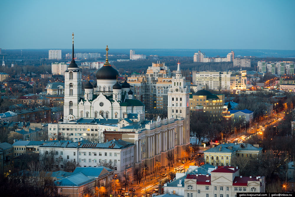 Voronezh from the height 45