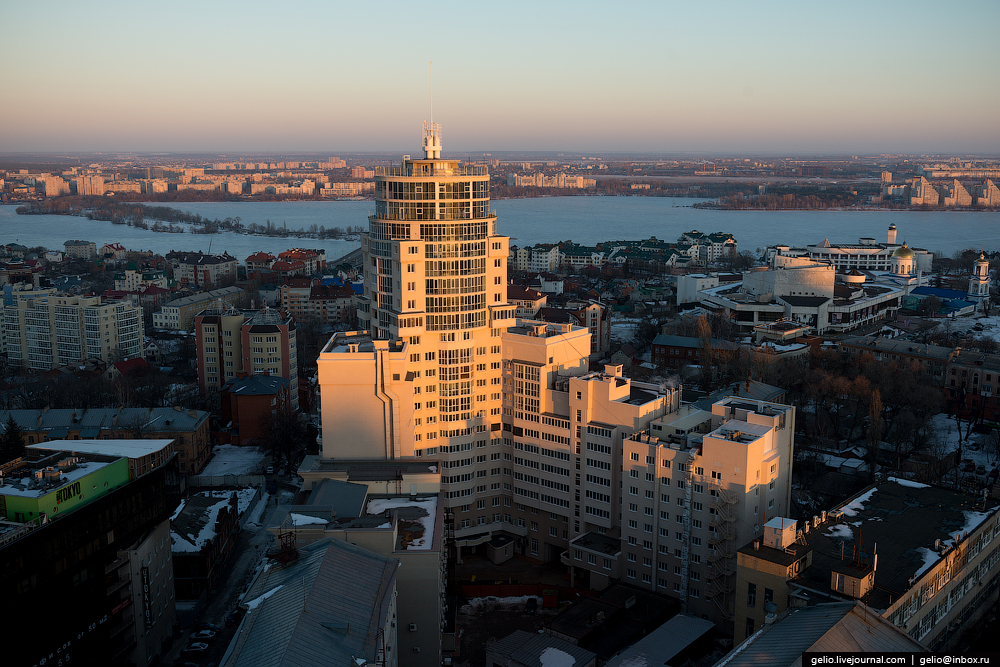 Voronezh from the height 58