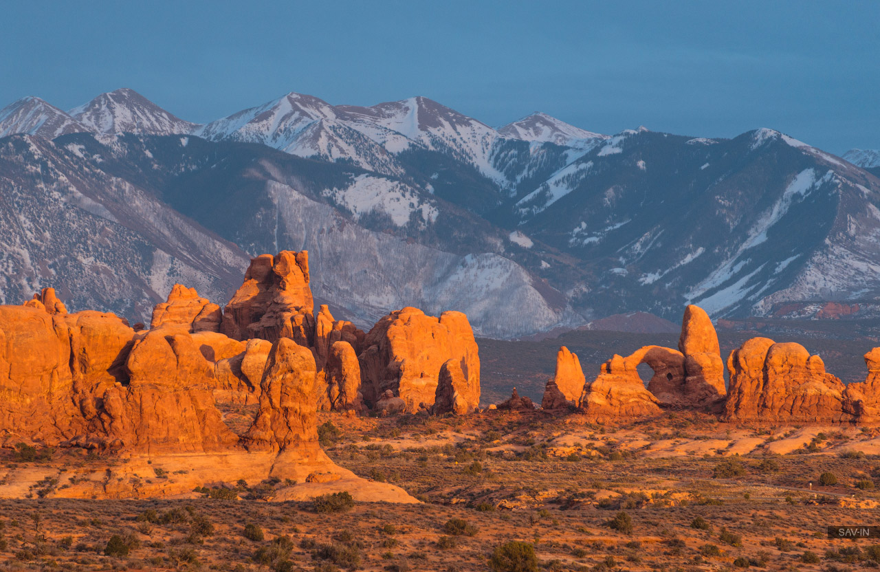 Arches national Park. From dusk till dawn 01