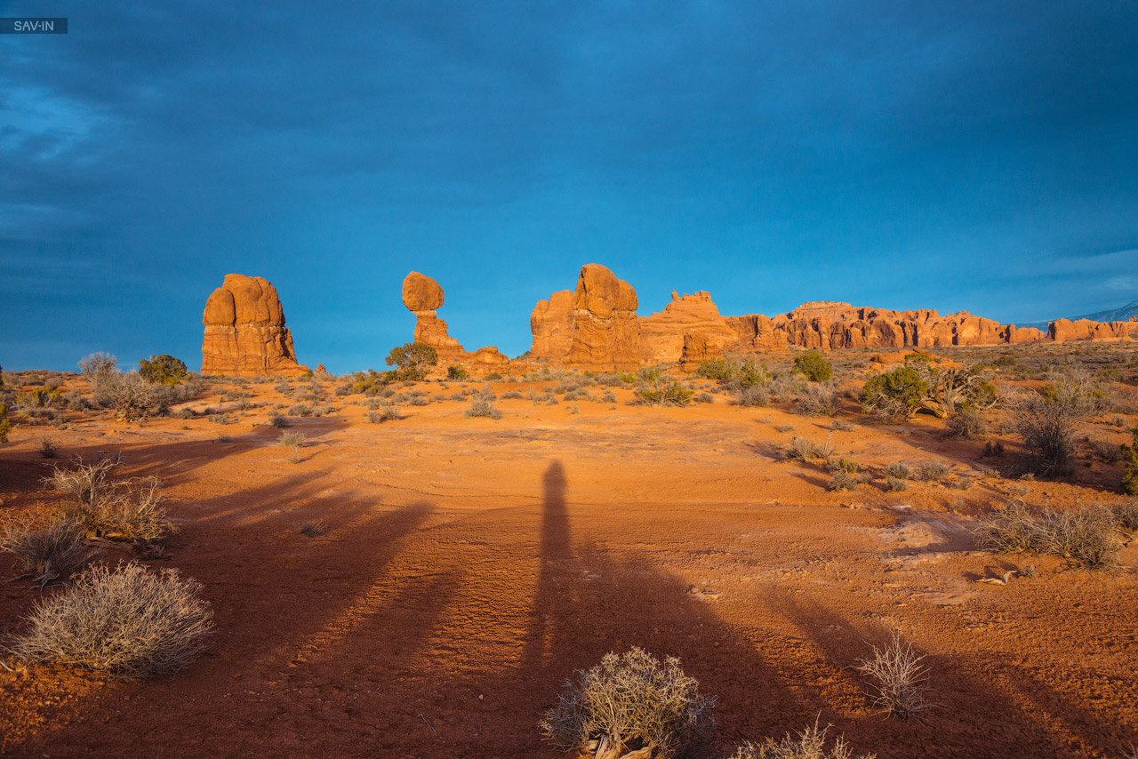 Arches national Park. From dusk till dawn 04