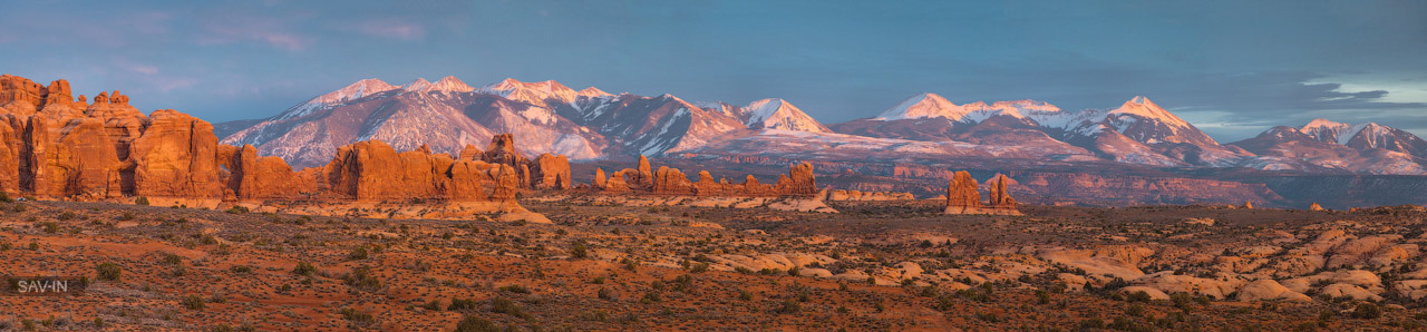 Arches national Park. From dusk till dawn 05
