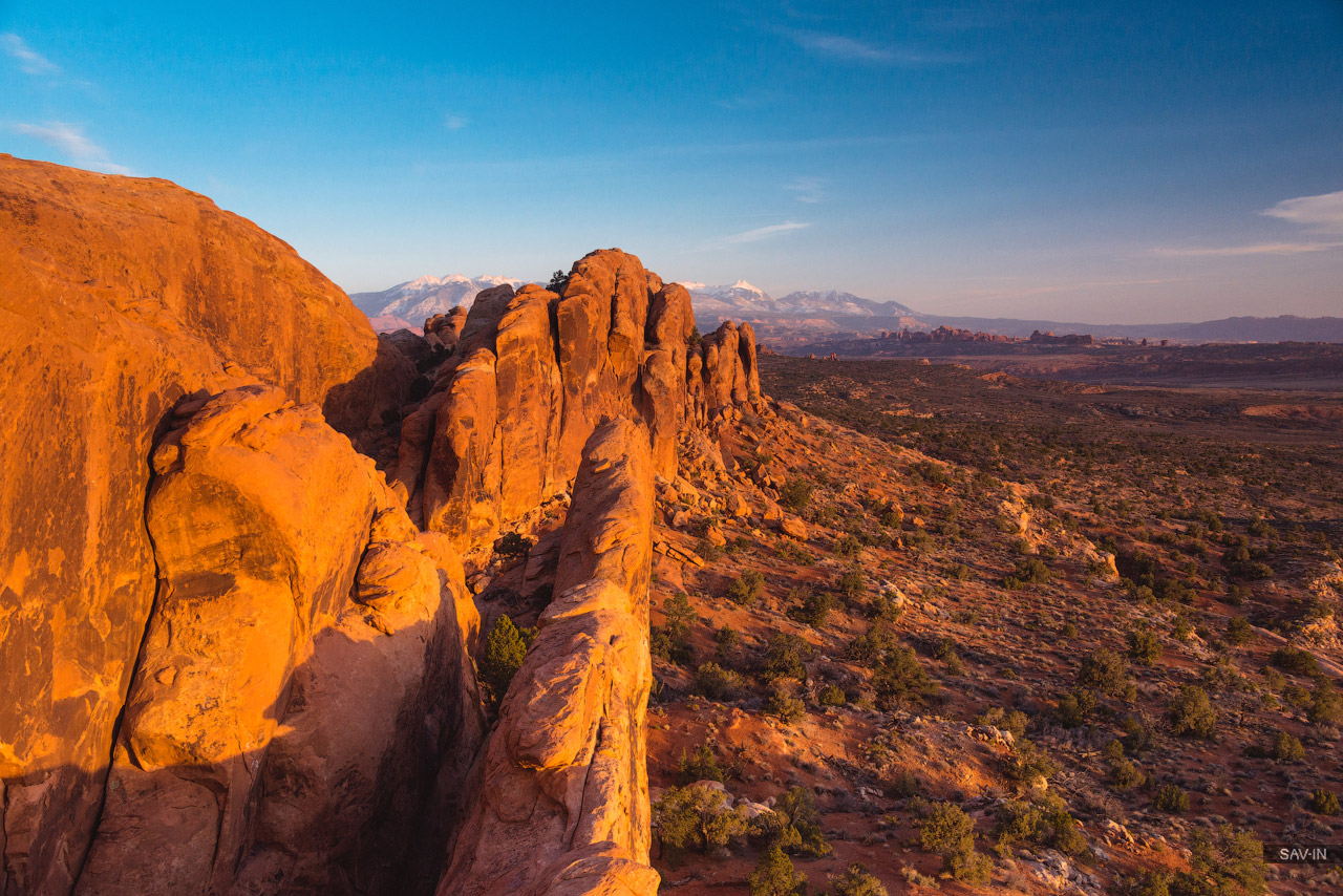 Arches national Park. From dusk till dawn 23