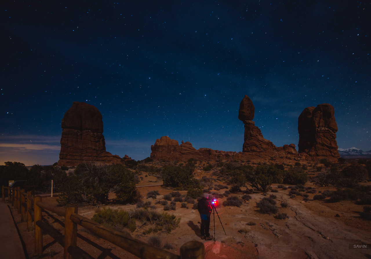 Arches national Park. From dusk till dawn 30