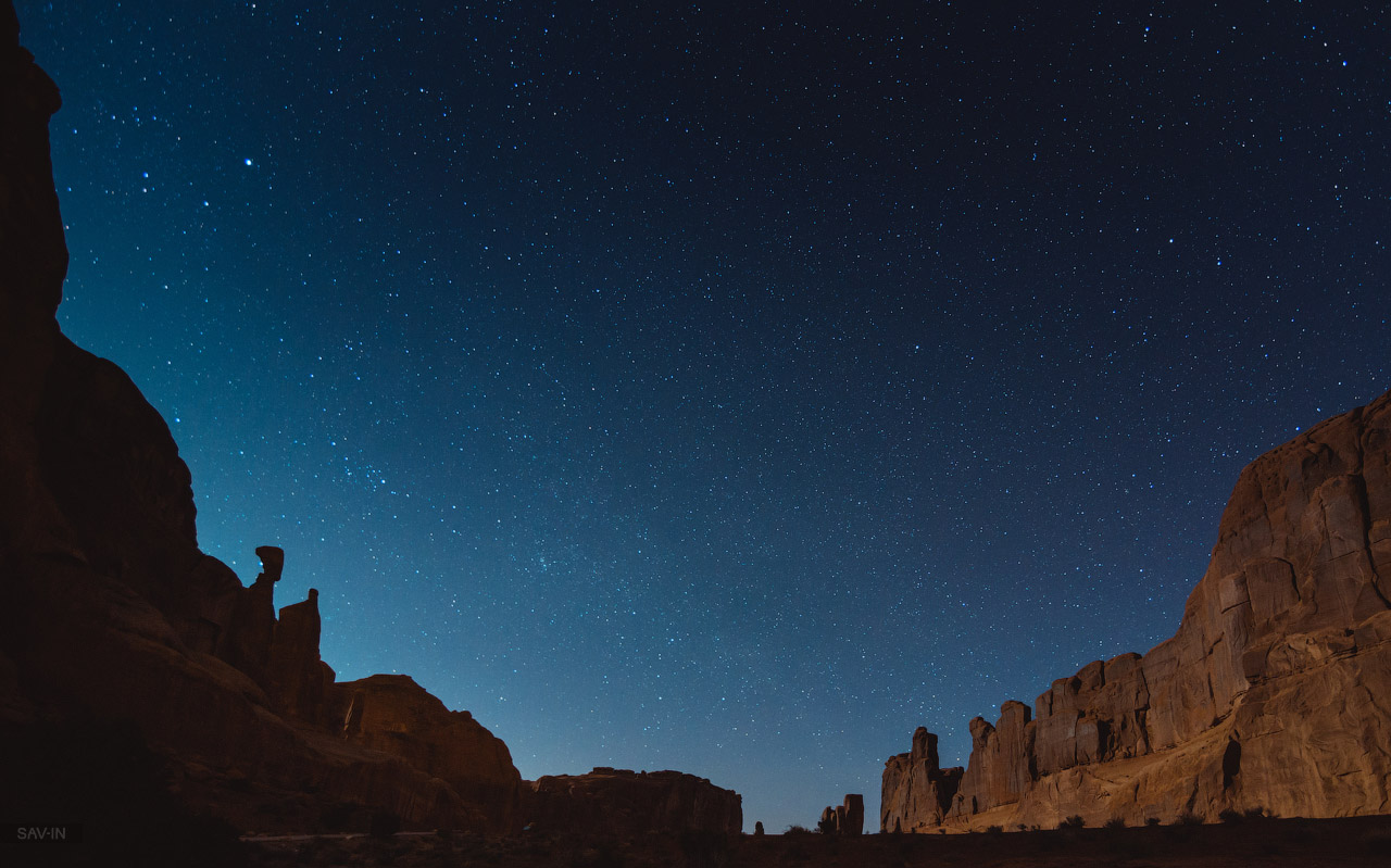 Arches national Park. From dusk till dawn 32