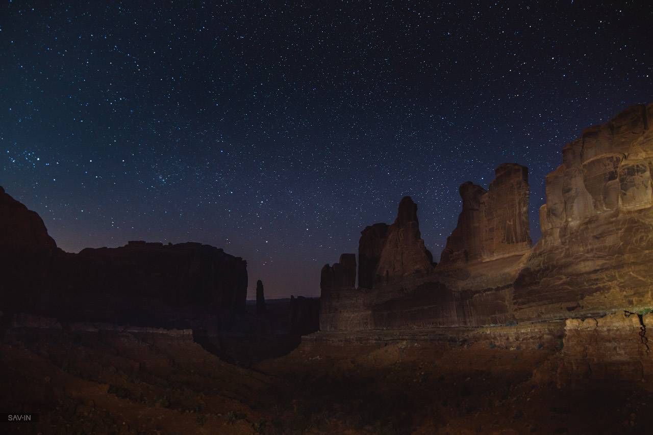 Arches national Park. From dusk till dawn 33