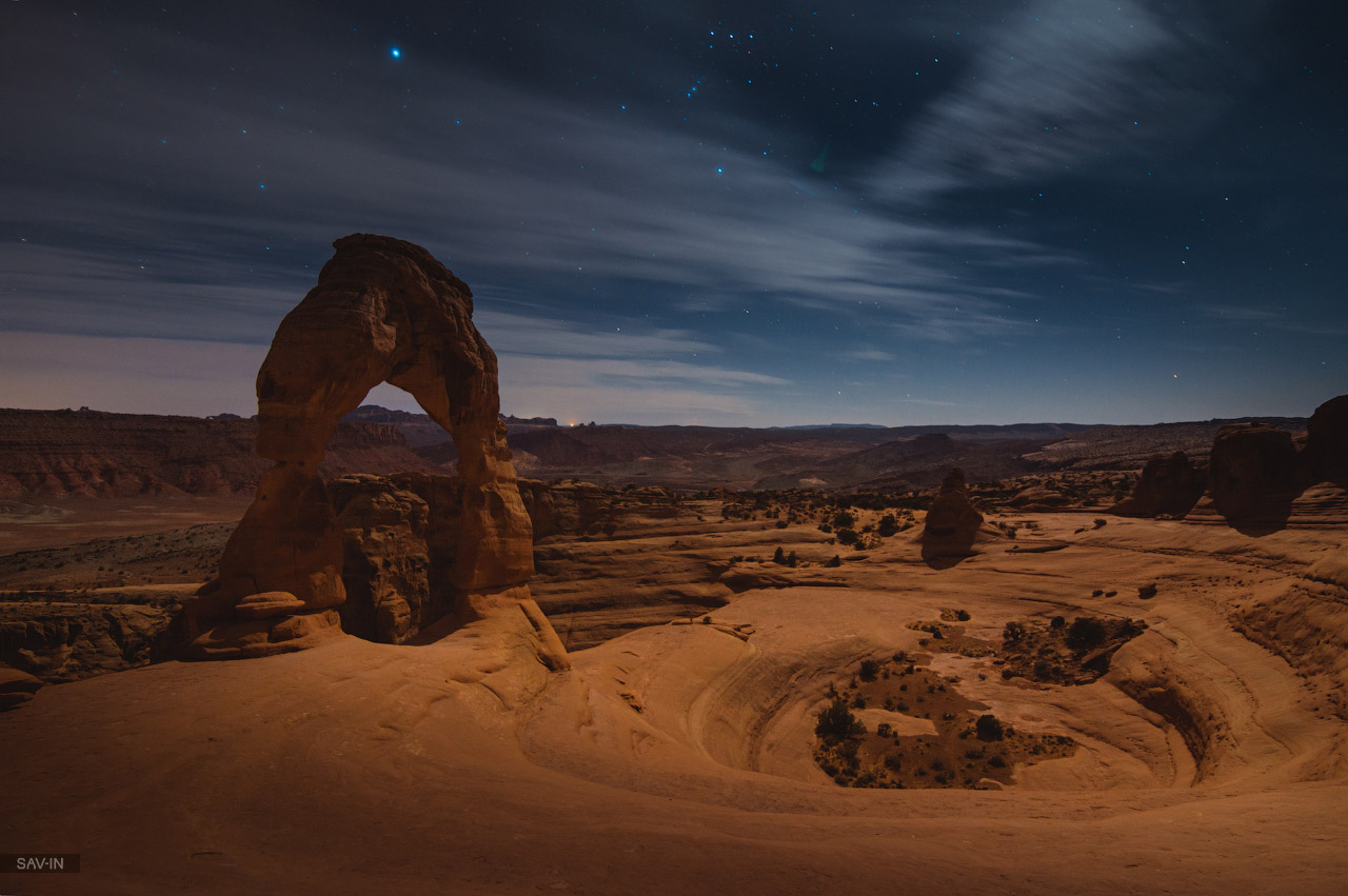 Arches national Park. From dusk till dawn 37