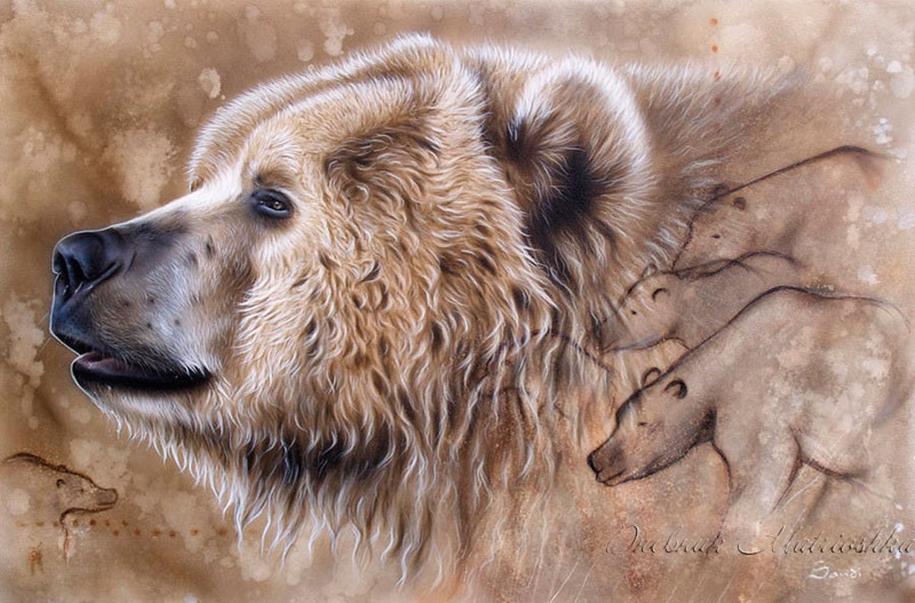 Awesome realistic drawings of animals 05