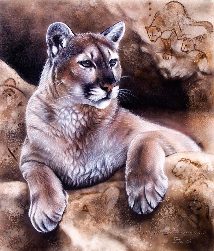 Awesome realistic drawings of animals 07