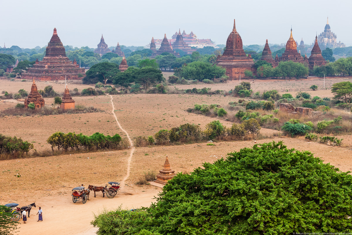 Bagan is the main tourist attraction of Myanmar 05