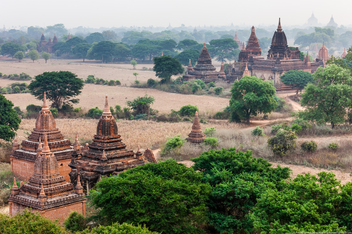 Bagan is the main tourist attraction of Myanmar 06
