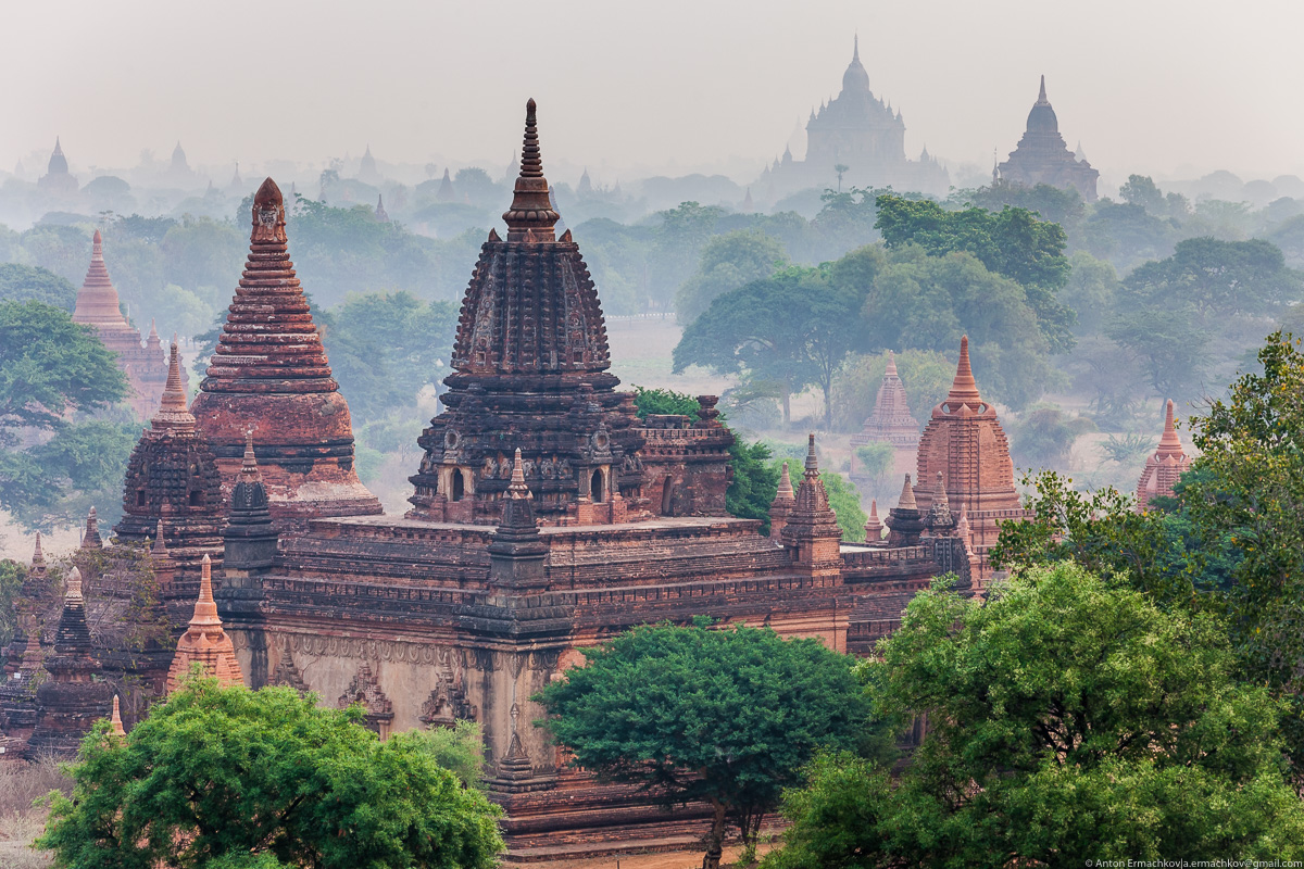 Bagan is the main tourist attraction of Myanmar 07