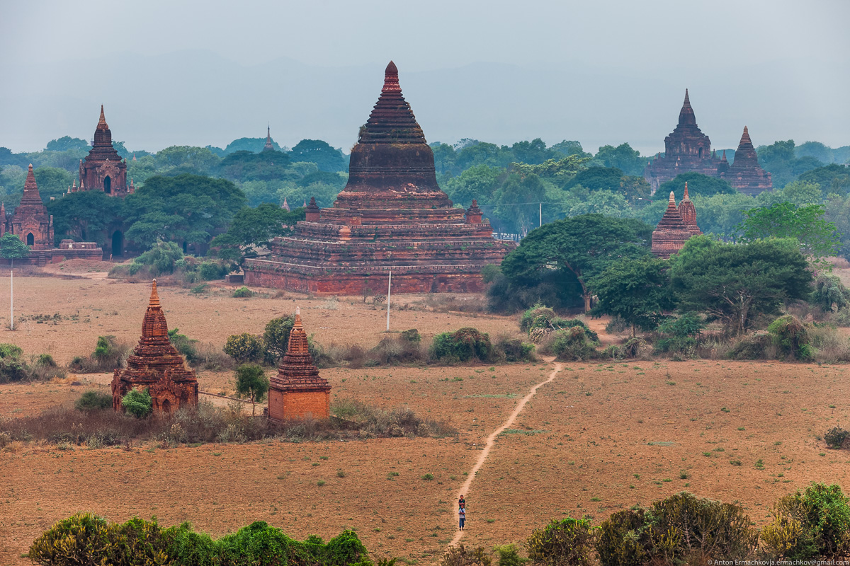Bagan is the main tourist attraction of Myanmar 08