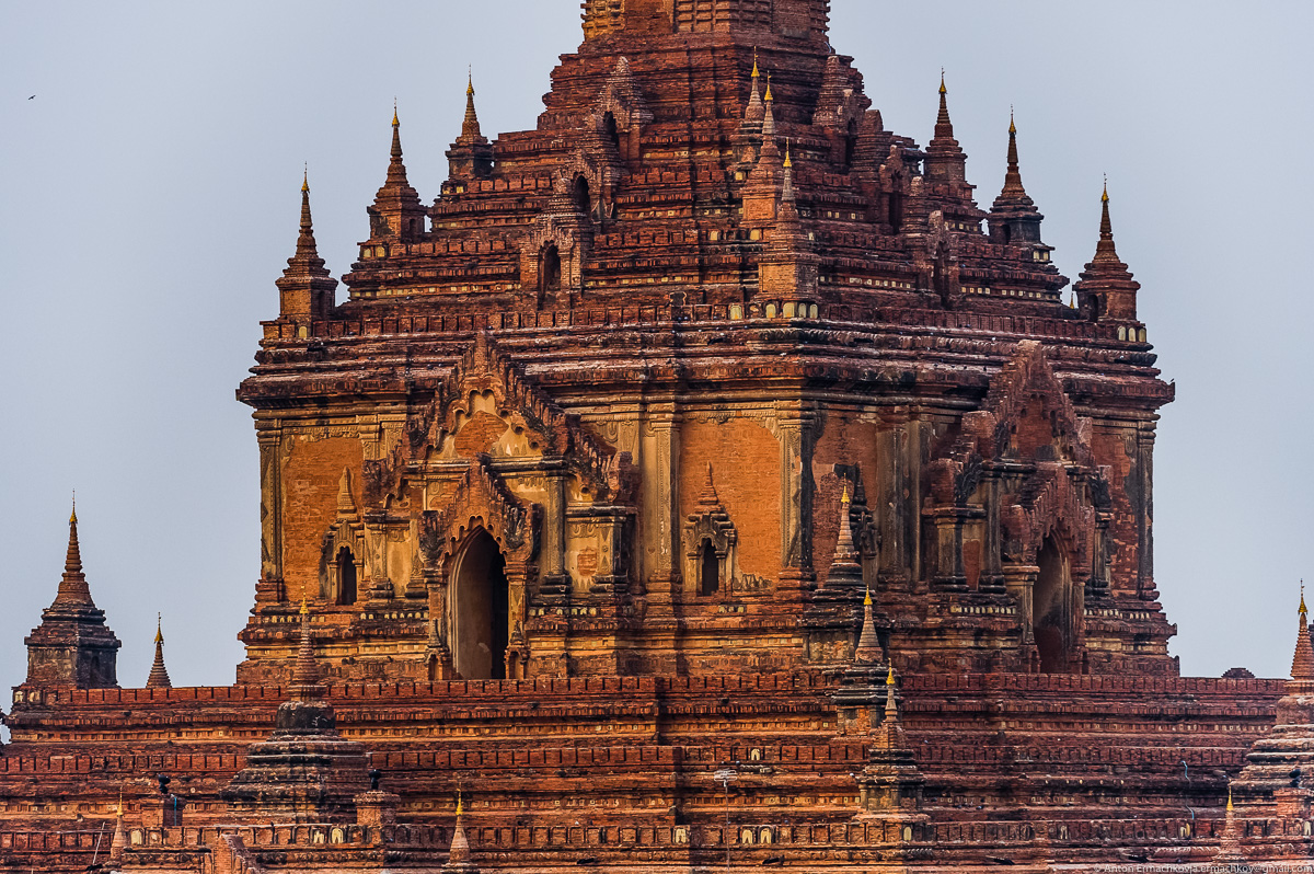 Bagan is the main tourist attraction of Myanmar 11