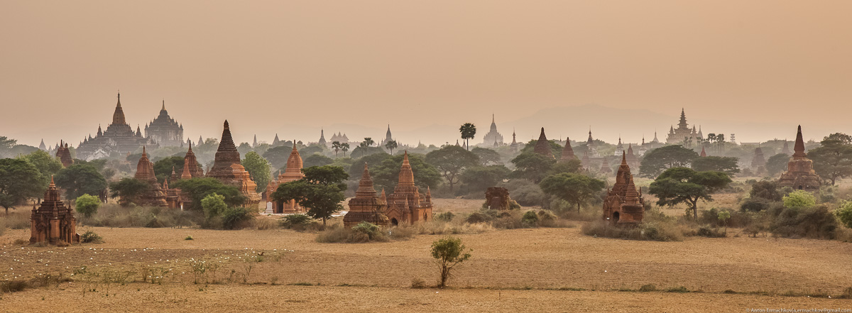 Bagan is the main tourist attraction of Myanmar 14