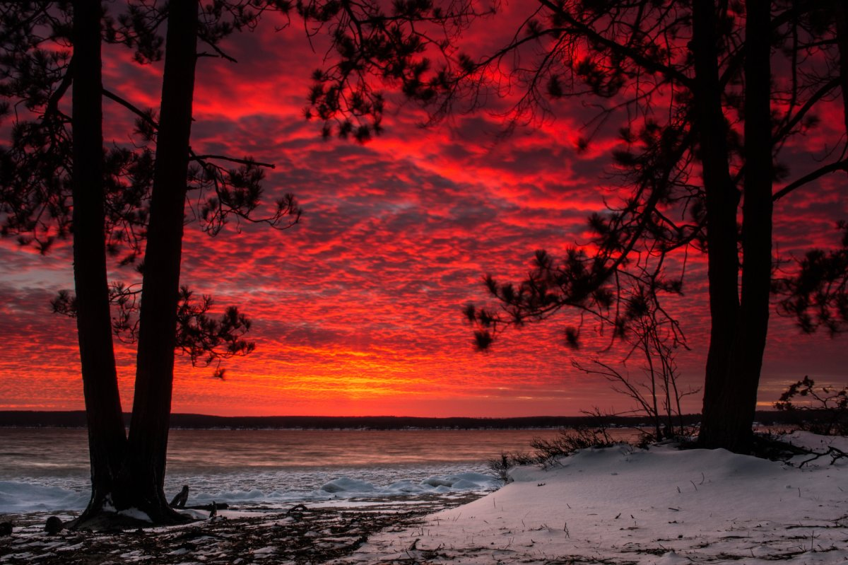 Beautiful photos with sunsets and sunrises 22