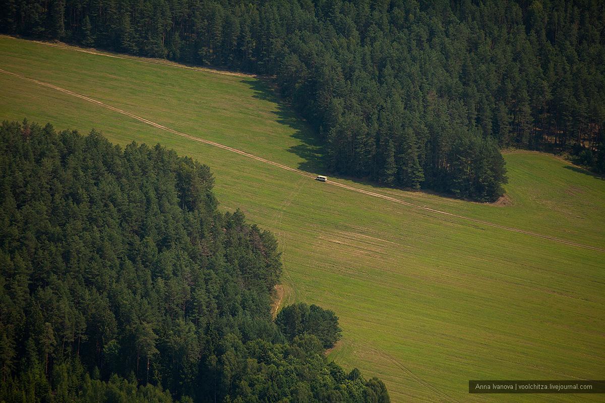 Geometric landscapes. Aseptrol Minsk region 08