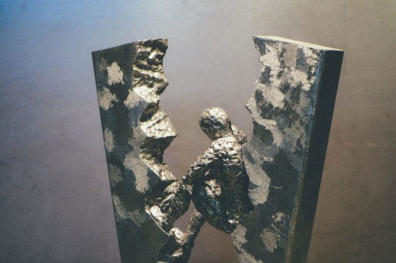 Harsh and thin welding art by David Madero 06