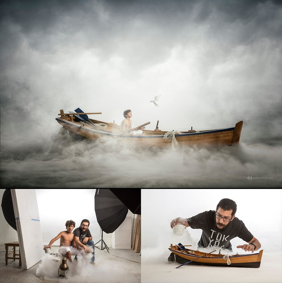 Mexican photographer creates wonderful fotolii using toys 01