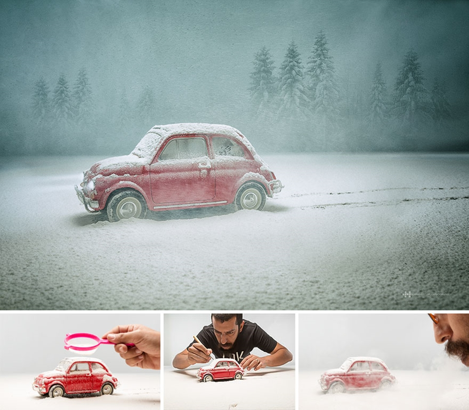 Mexican photographer creates wonderful fotolii using toys 02