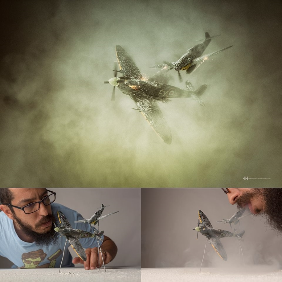 Mexican photographer creates wonderful fotolii using toys 03