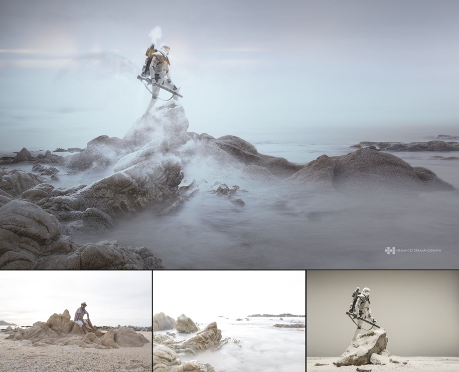 Mexican photographer creates wonderful fotolii using toys 04