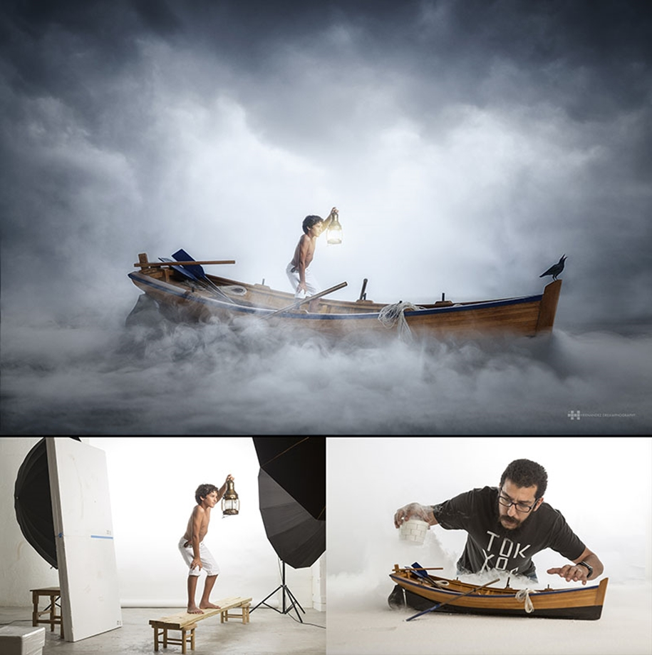 Mexican photographer creates wonderful fotolii using toys 09