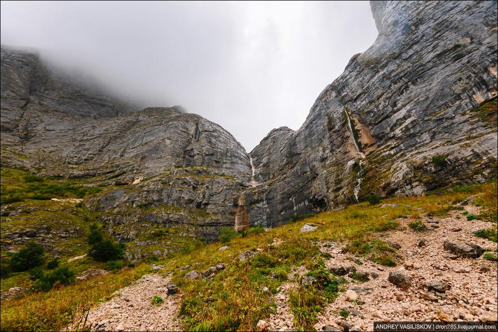 Of Adygea. Przejsciu waterfall 03