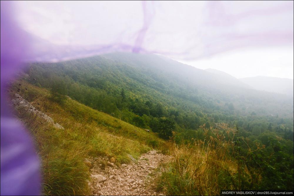 Of Adygea. Przejsciu waterfall 04