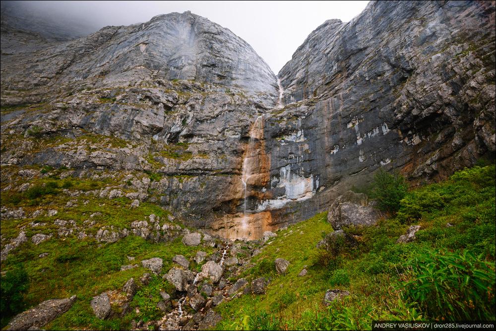 Of Adygea. Przejsciu waterfall 05