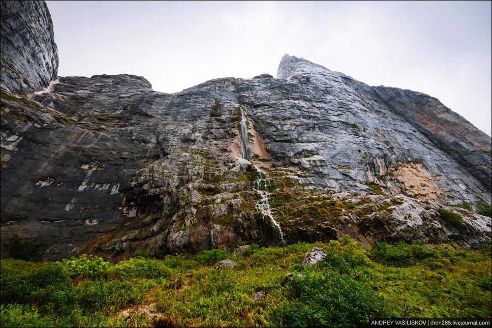 Of Adygea. Przejsciu waterfall 06
