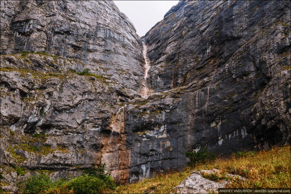 Of Adygea. Przejsciu waterfall 07