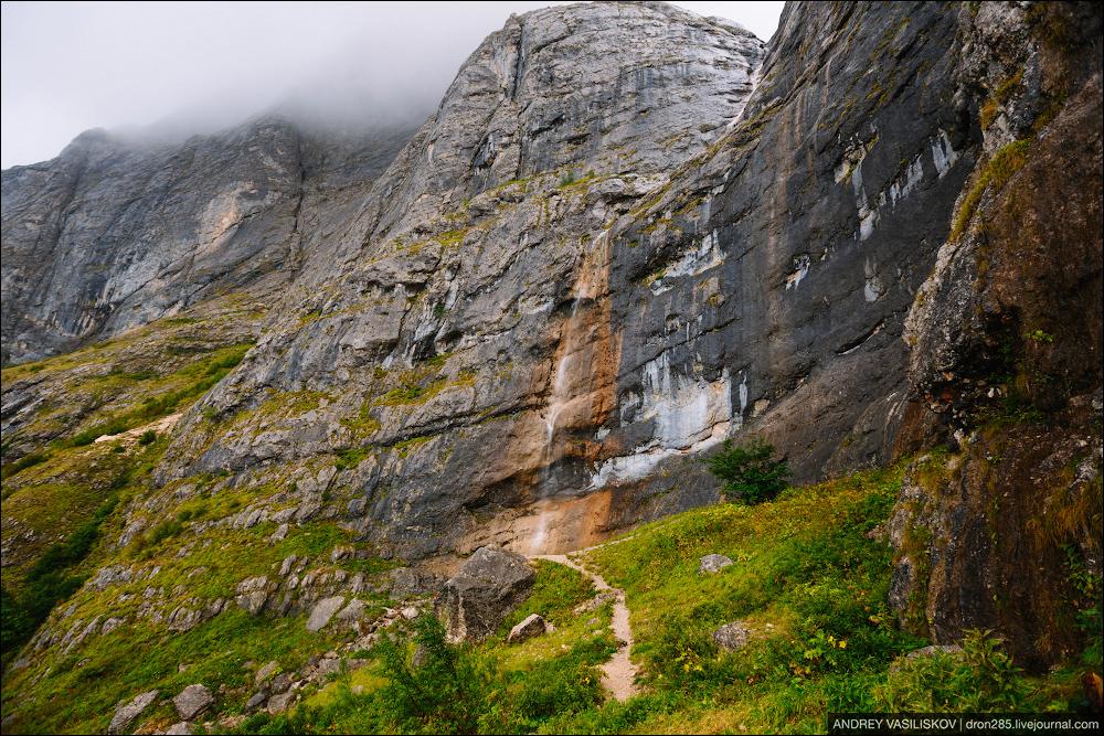 Of Adygea. Przejsciu waterfall 09
