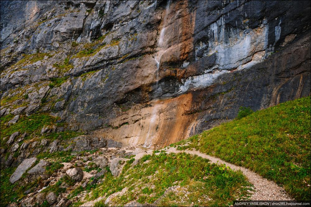Of Adygea. Przejsciu waterfall 10