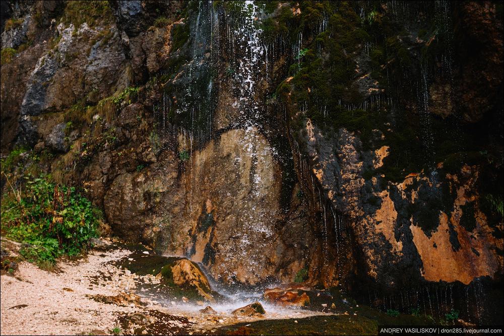 Of Adygea. Przejsciu waterfall 14