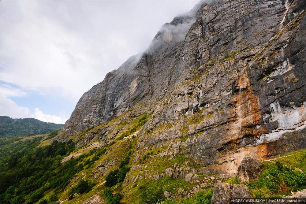 Of Adygea. Przejsciu waterfall 19