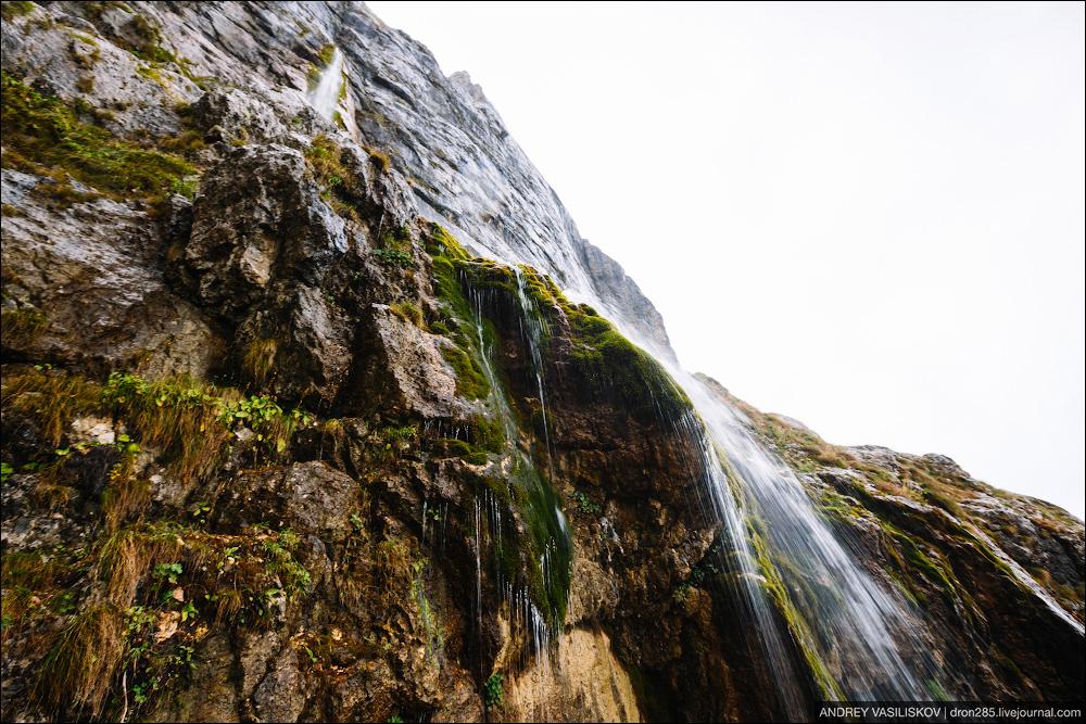 Of Adygea. Przejsciu waterfall 21