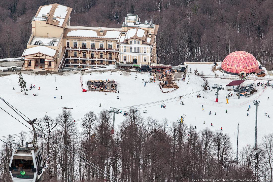 So bad break in Sochi 14