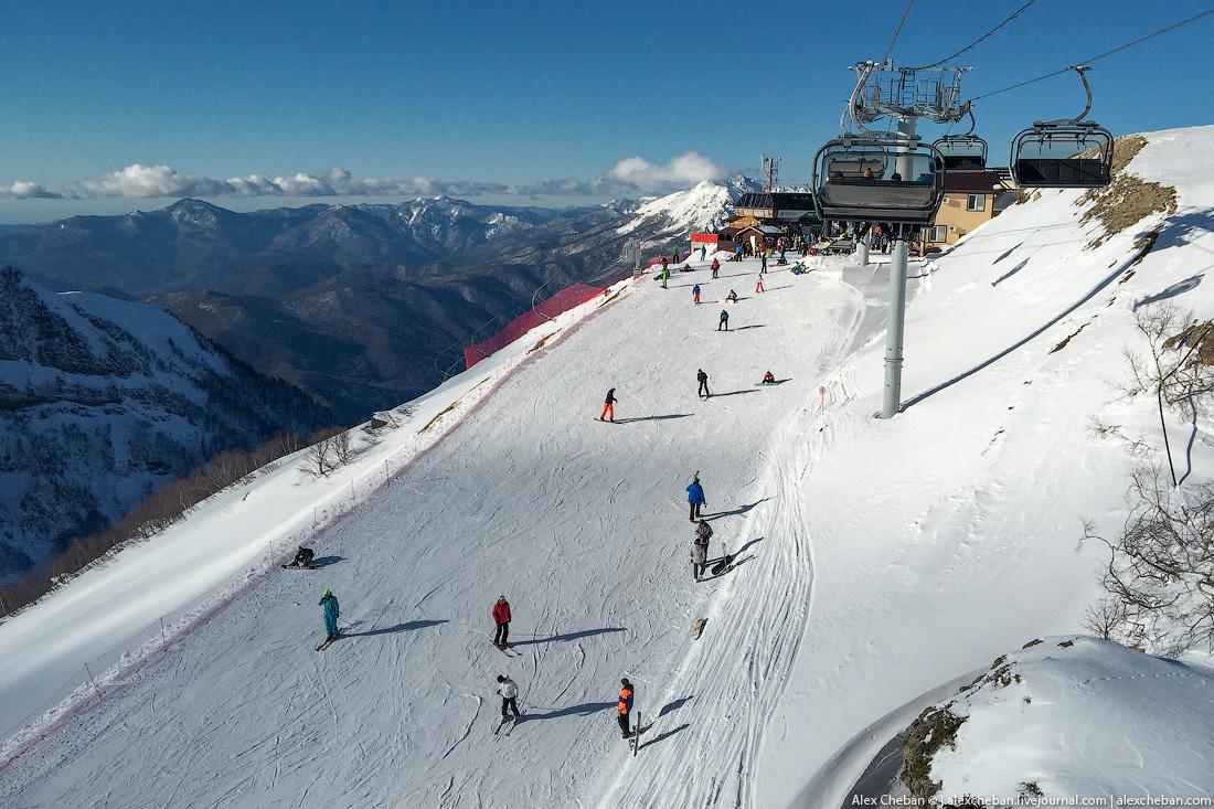So bad break in Sochi 19