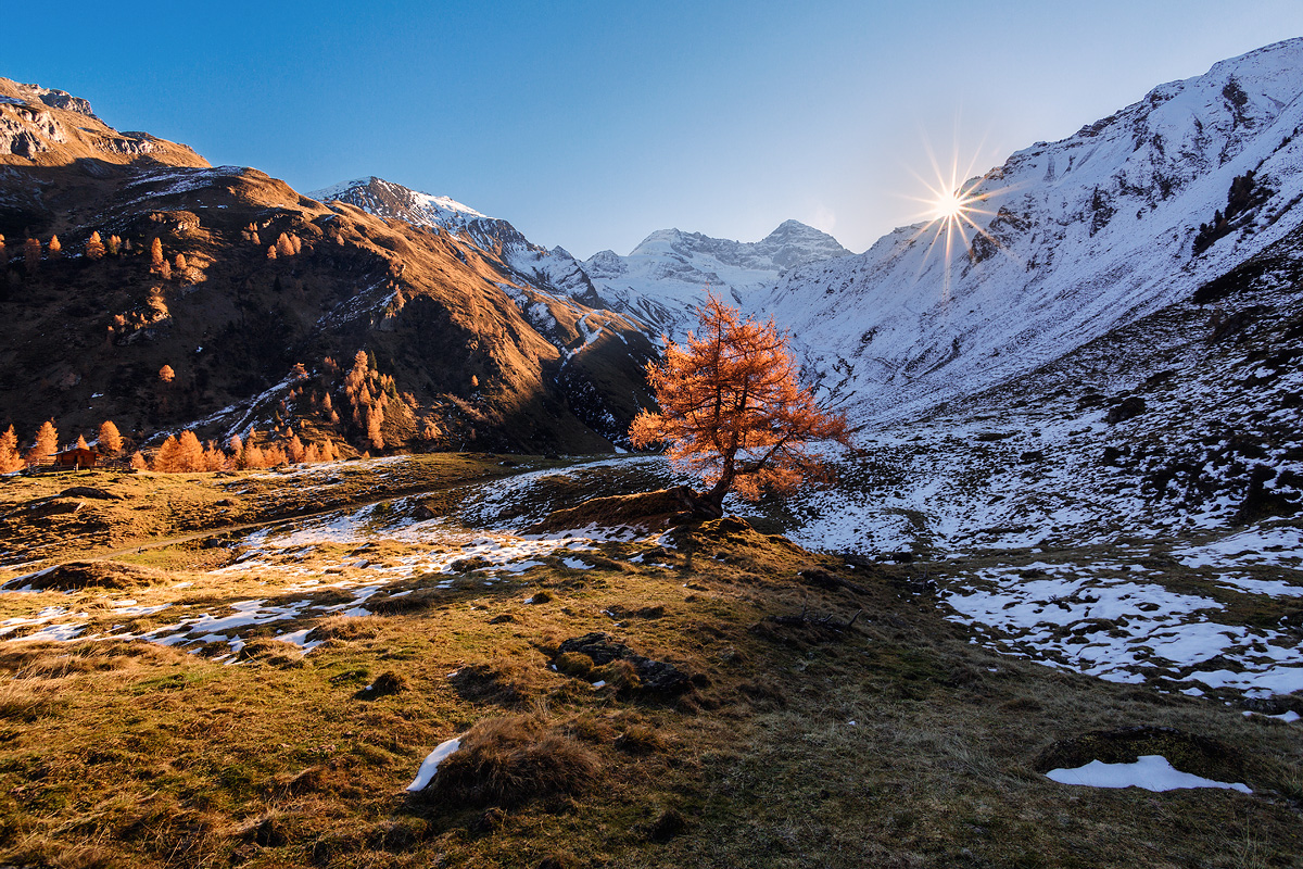 South Tyrolean Alps in the winter 01