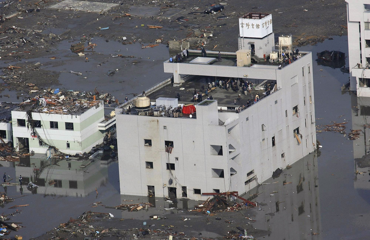 The Japanese earthquake 5 years later 12