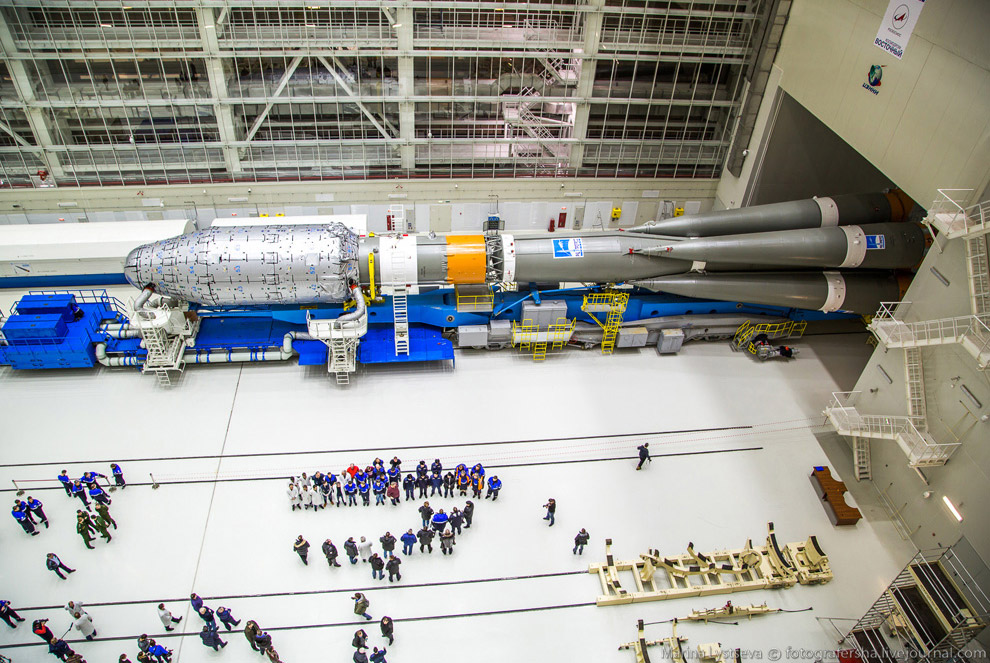 The Vostochny space centre first launch is ready 03