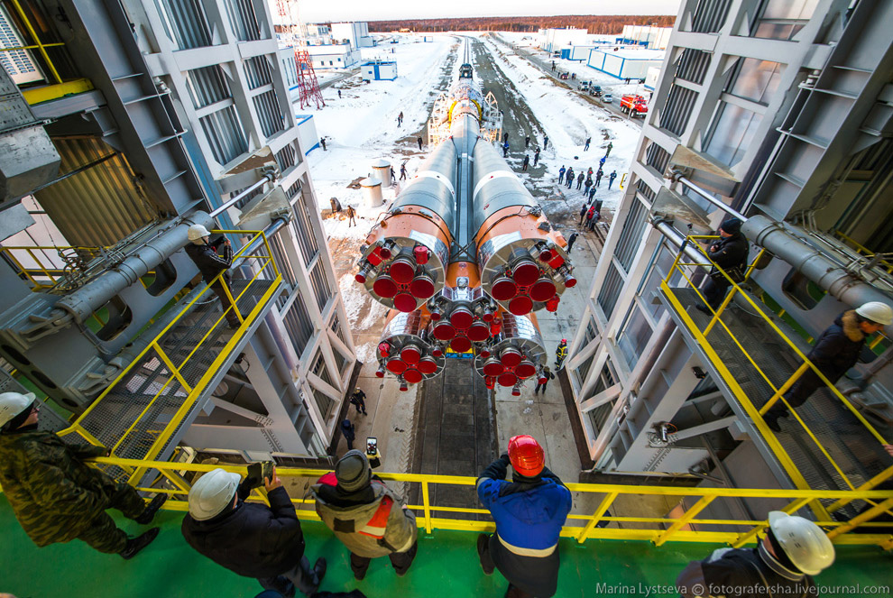 The Vostochny space centre first launch is ready 12
